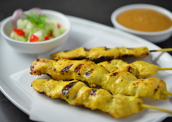 Chicken Satay (4 skewers)