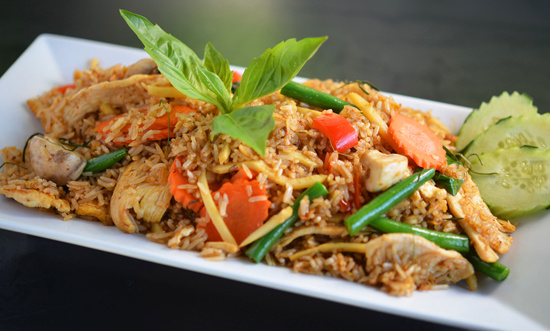 Red Curry Fried Rice*